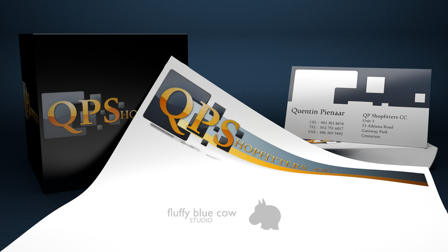 QPS Logo, Corporate Branding and Business Cards