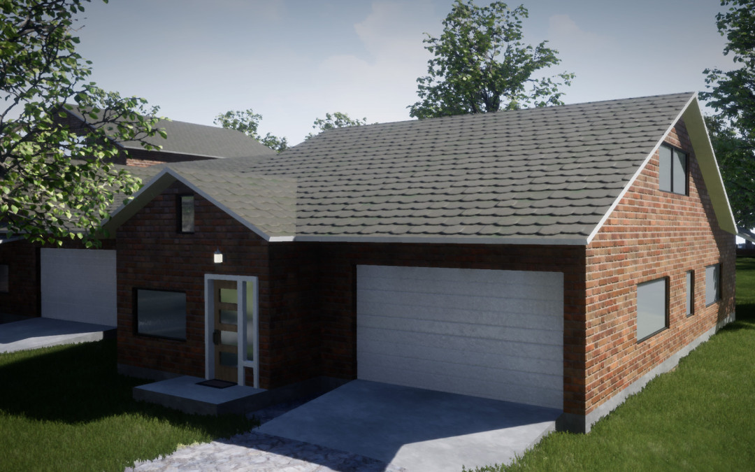 Estate 3D Visualization and drive through